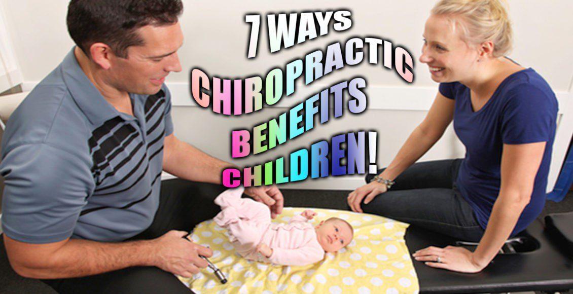 7 formas en que la quiropráctica beneficia a los niños el paso tx.