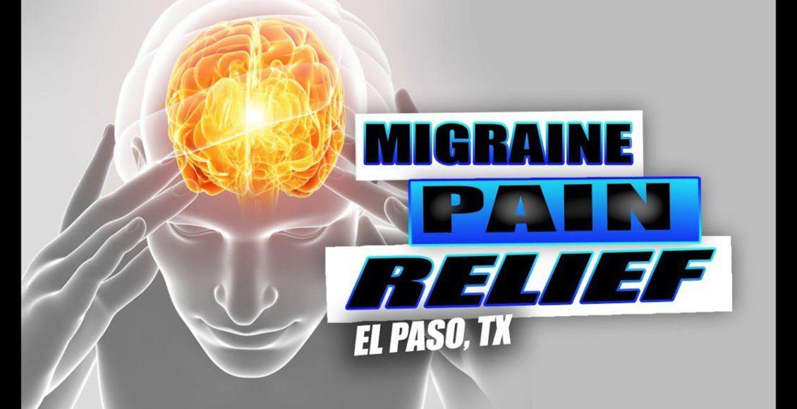 migraña quiropráctica alivio del dolor el paso tx.