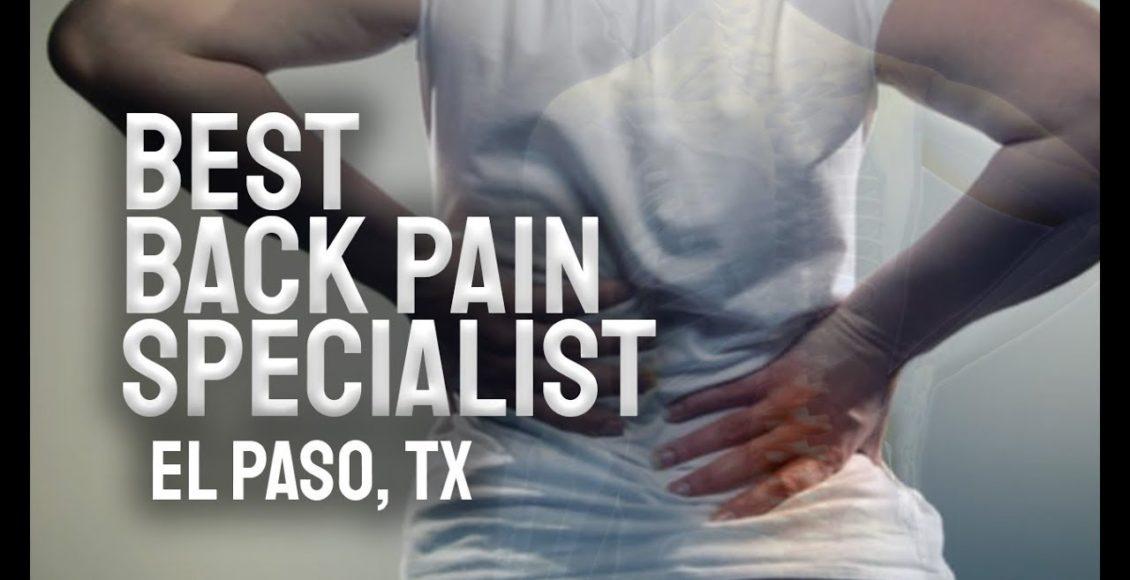 11860 Vista Del Sol Back Pain Specialist   El Paso, Tx (2019)