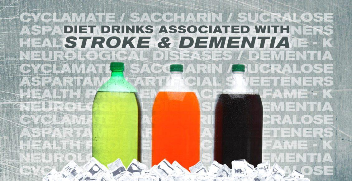 Neurología funcional: bebidas dietéticas asociadas con accidente cerebrovascular y demencia