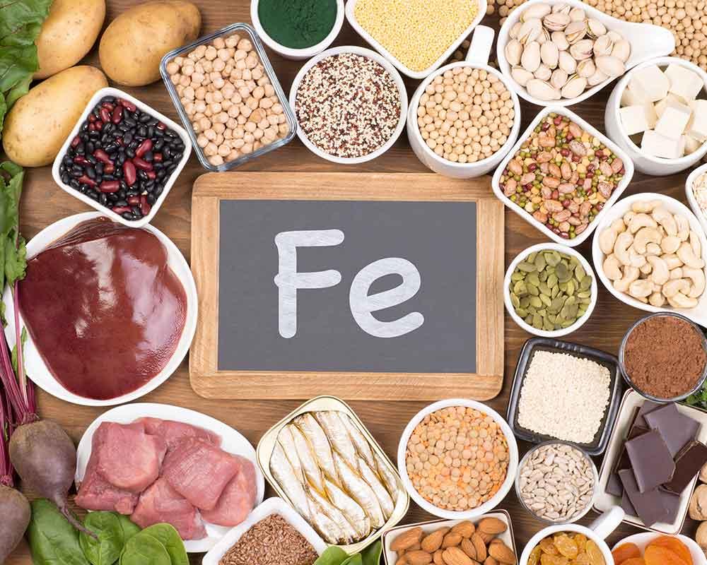 Ceto-amigable-alimentos-que-son-altos en hierro