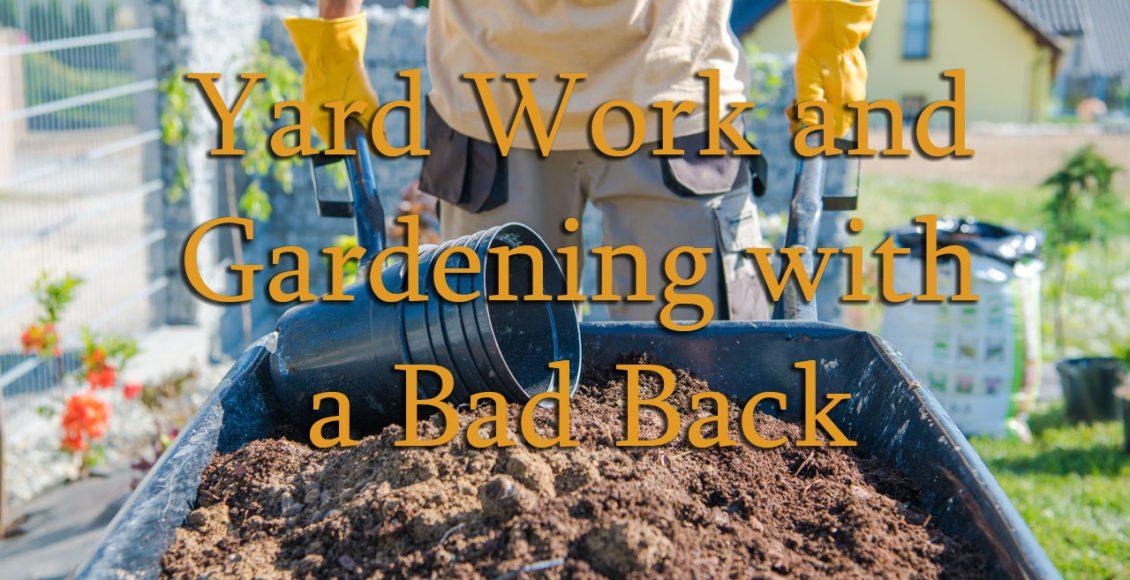 11860 Vista del Sol, Ste. 128 trabajos de jardinería y jardinería con problemas de espalda El Paso Texas